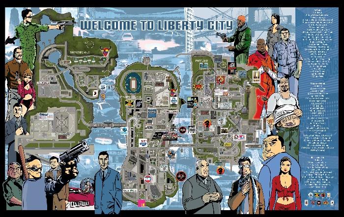 Карты для ГТА 3